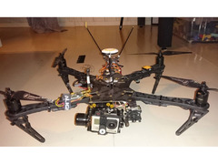Multicopter/drone selges