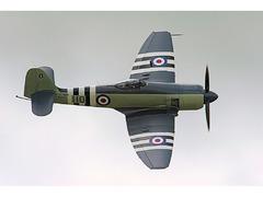 Hawker Sea Fury, Stor Glassfiber modell