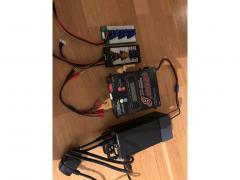 Turnigy Fatbot 8 (Powerlab 8) Med 1500W 24V powersuply.