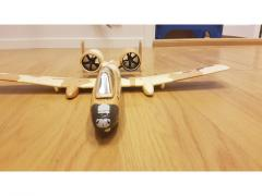 Micro A-10 med twin 35mm EDF