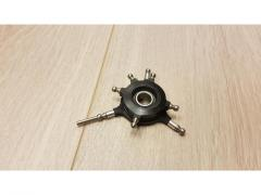 4 bladet rotorhode med swashplate for 600size (10mm)