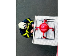 Microdrones MD4-1000 (Fabrikkny)