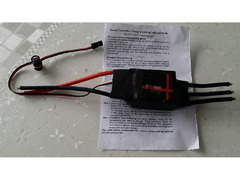 SkyWing børsteløs motor 200A ESC 5A / 5V BEC 2-6S for RC Airplane Aircraft